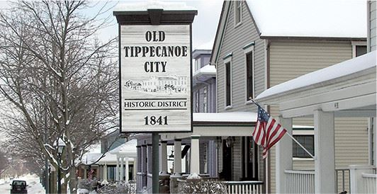 Historic District sign